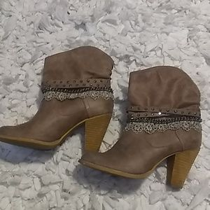 Not Rated Embellished Boots